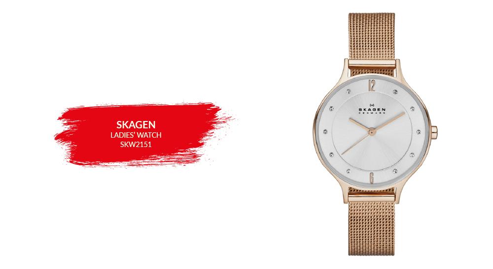 2018 gennaio Vendita Skagen SKW2151